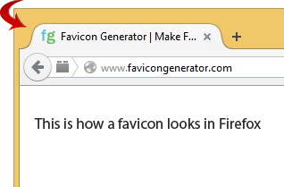 Favicon in FireFox